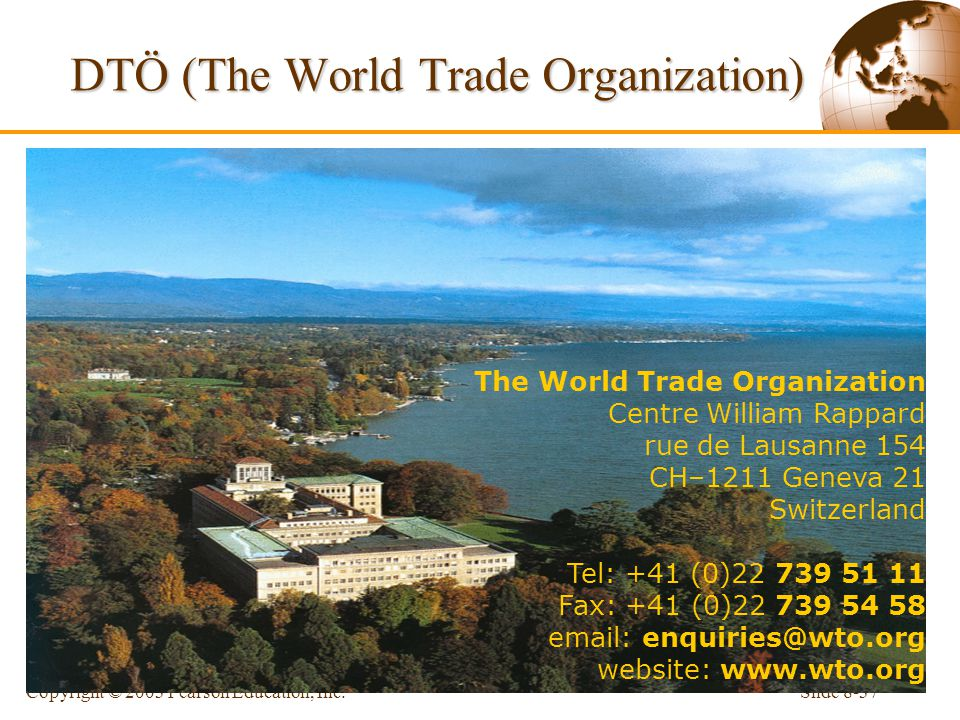 DTÖ (The World Trade Organization)