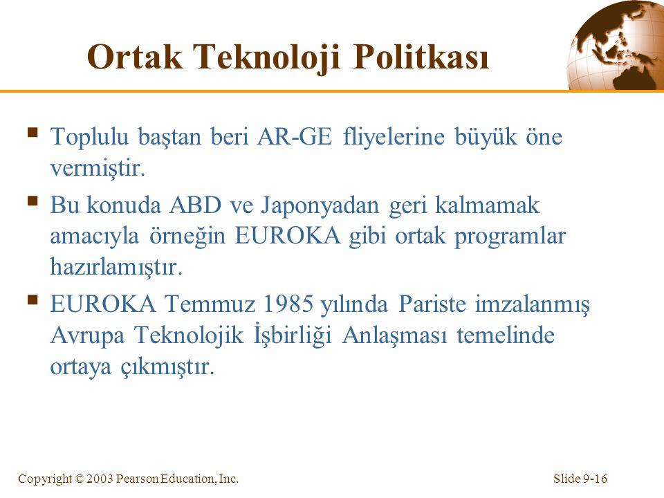 Ortak Teknoloji Politkası