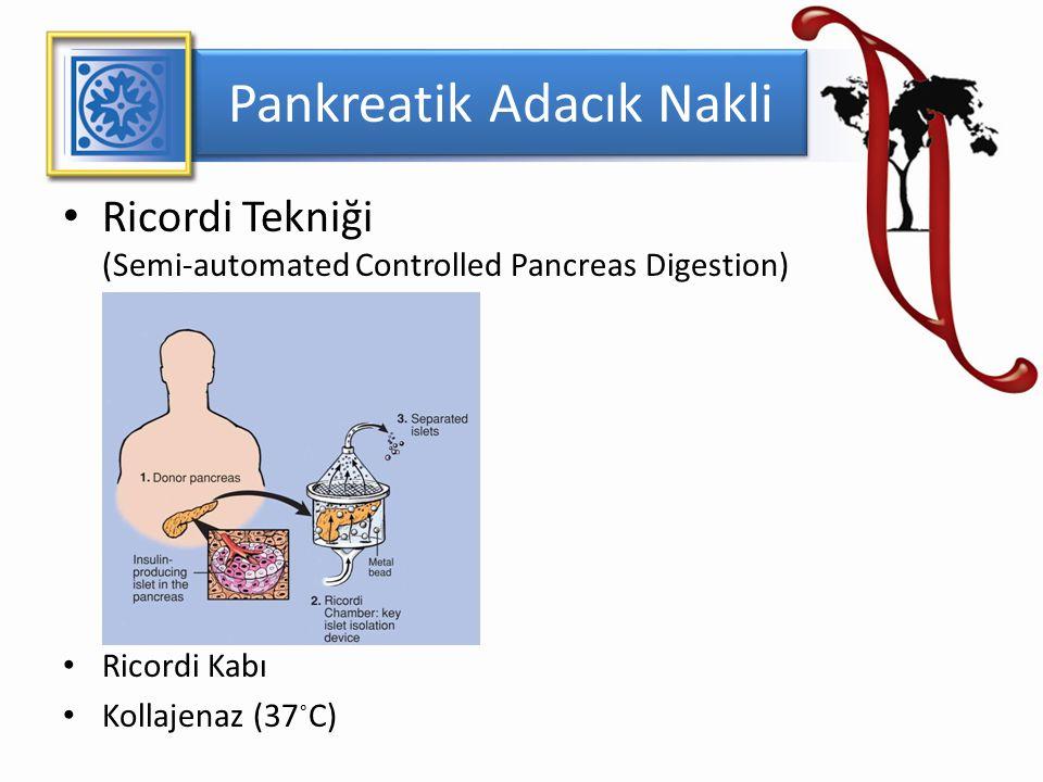 Pankreatik Adacık Nakli