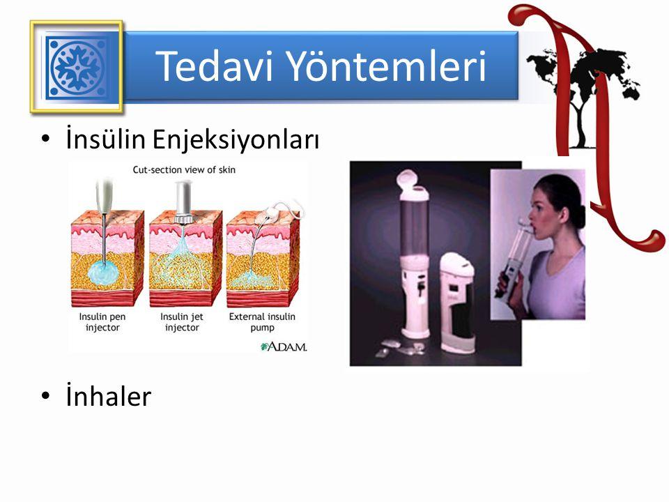 Tedavi Yöntemleri İnsülin Enjeksiyonları İnhaler