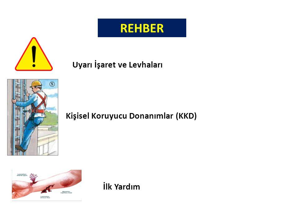 REHBER Uyarı İşaret ve Levhaları Kişisel Koruyucu Donanımlar (KKD)