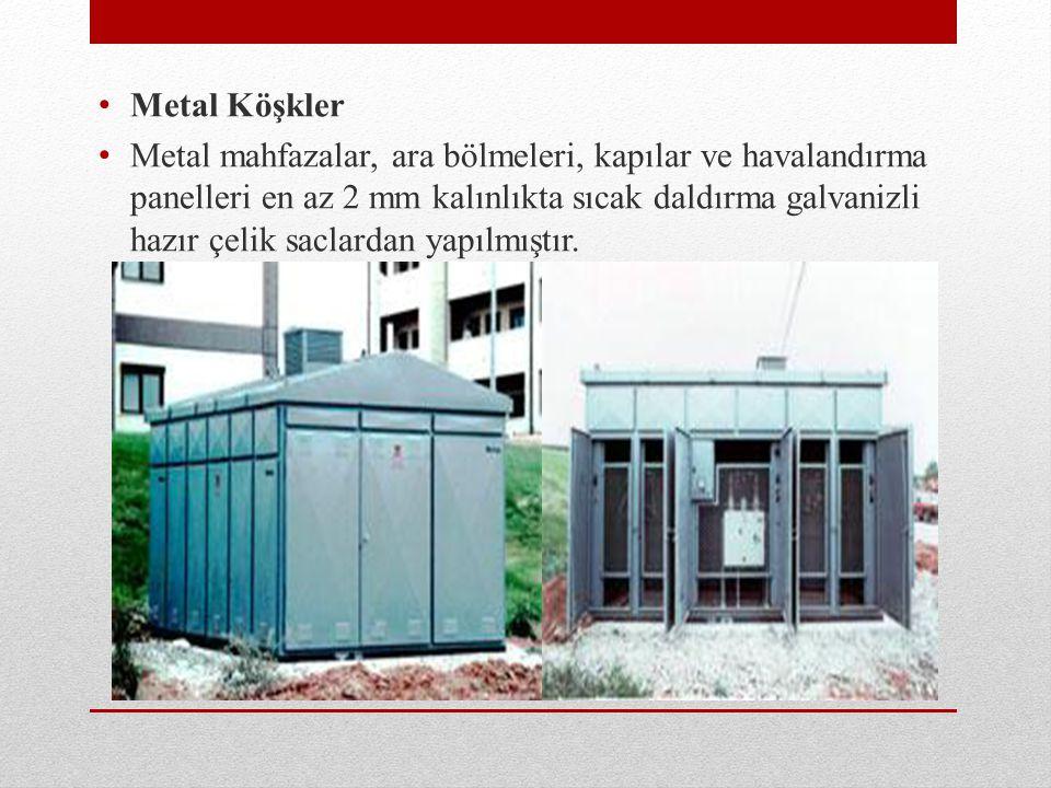 Metal Köşkler