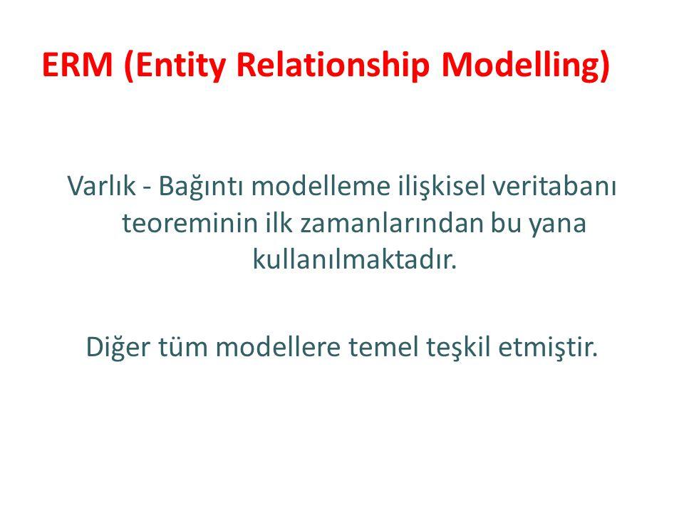 ERM (Entity Relationship Modelling)
