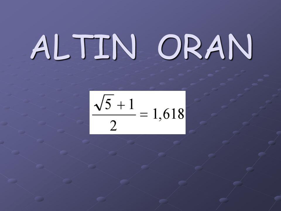 ALTIN ORAN