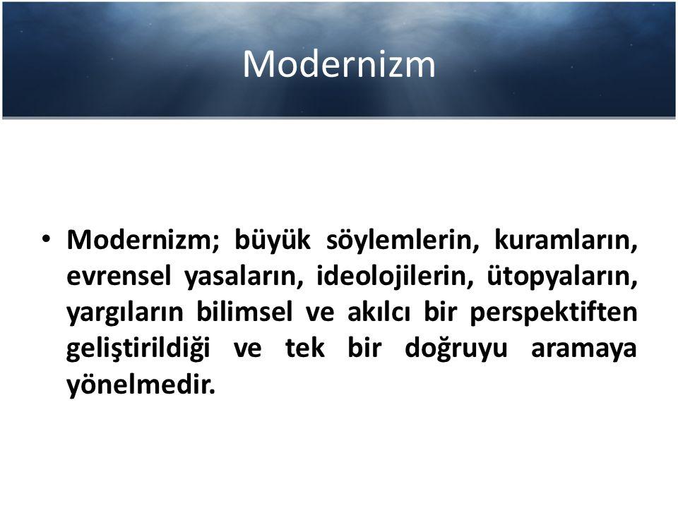 Modernizm