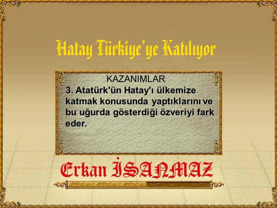 KAZANIMLAR 3.