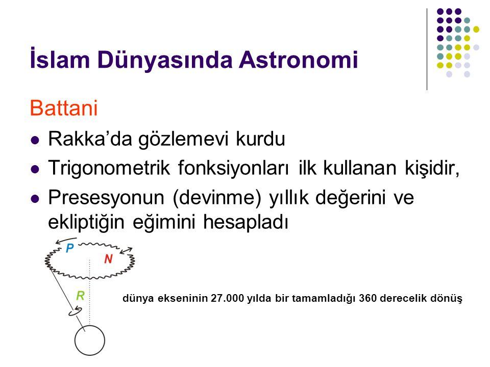 İslam Dünyasında Astronomi