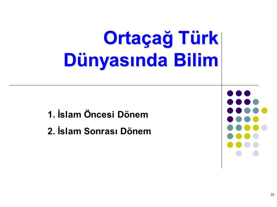 Ortaçağ Türk Dünyasında Bilim
