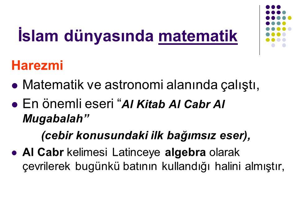 İslam dünyasında matematik