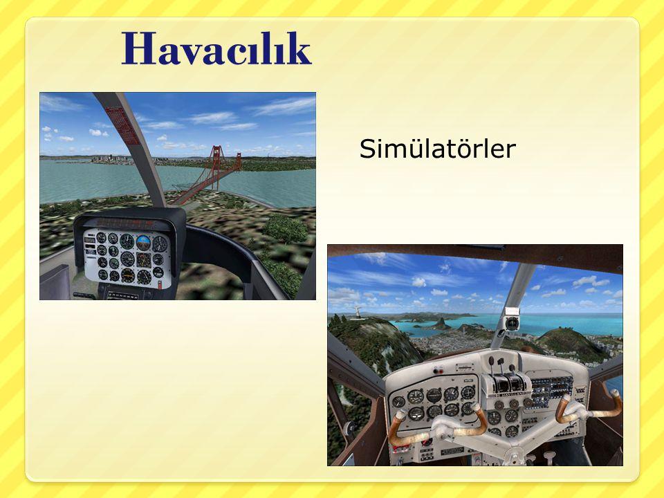 Havacılık Simülatörler