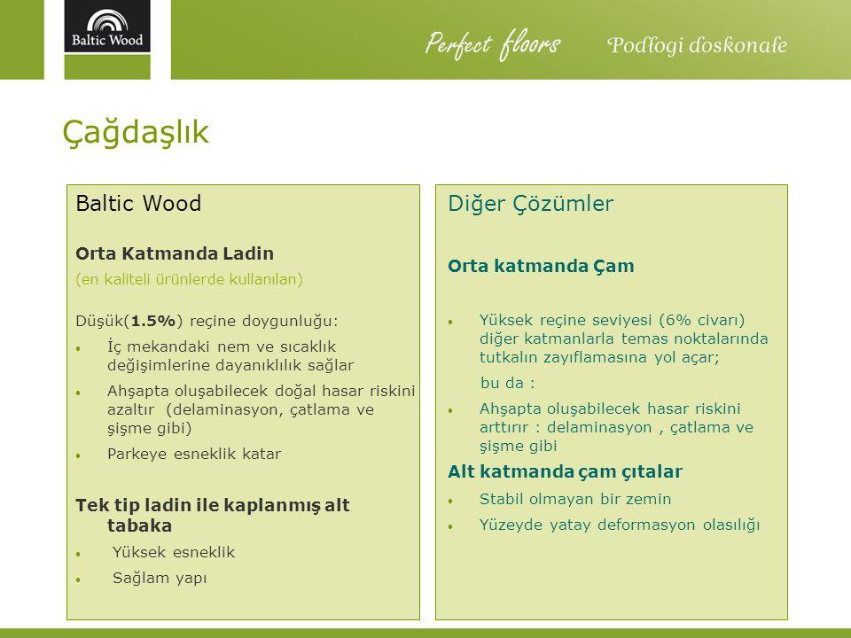 Perfect floors Çağdaşlık Baltic Wood Diğer Çözümler