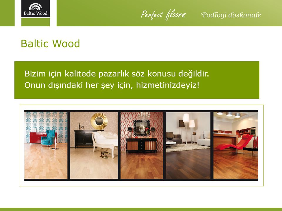 Perfect floors Baltic Wood