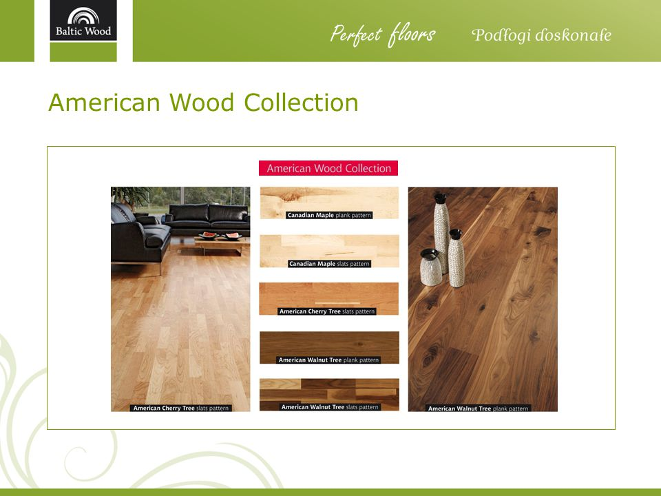 Perfect floors American Wood Collection