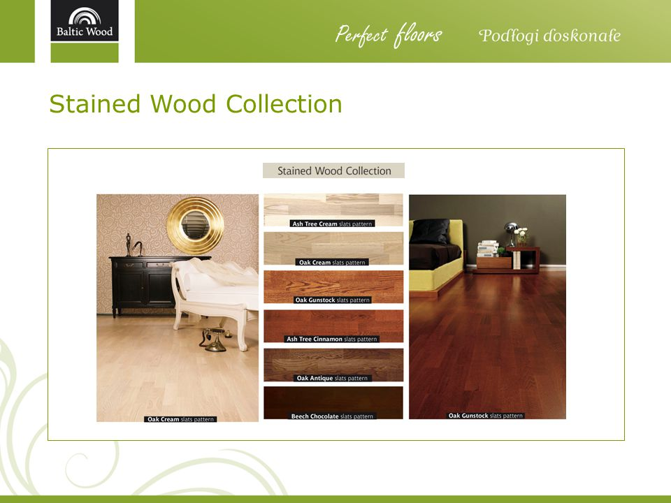 Perfect floors Stained Wood Collection