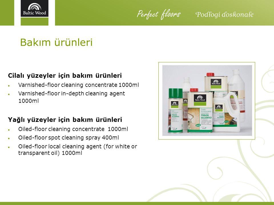 Perfect floors Bakım ürünleri Cilalı yüzeyler için bakım ürünleri