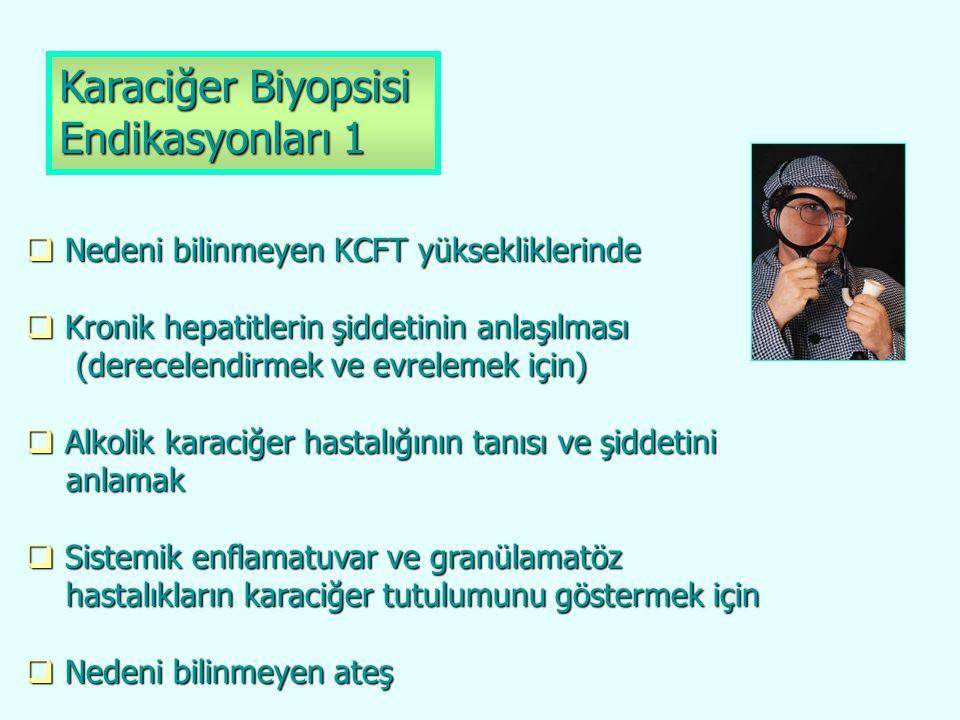 Karaciğer Biyopsisi Endikasyonları 1