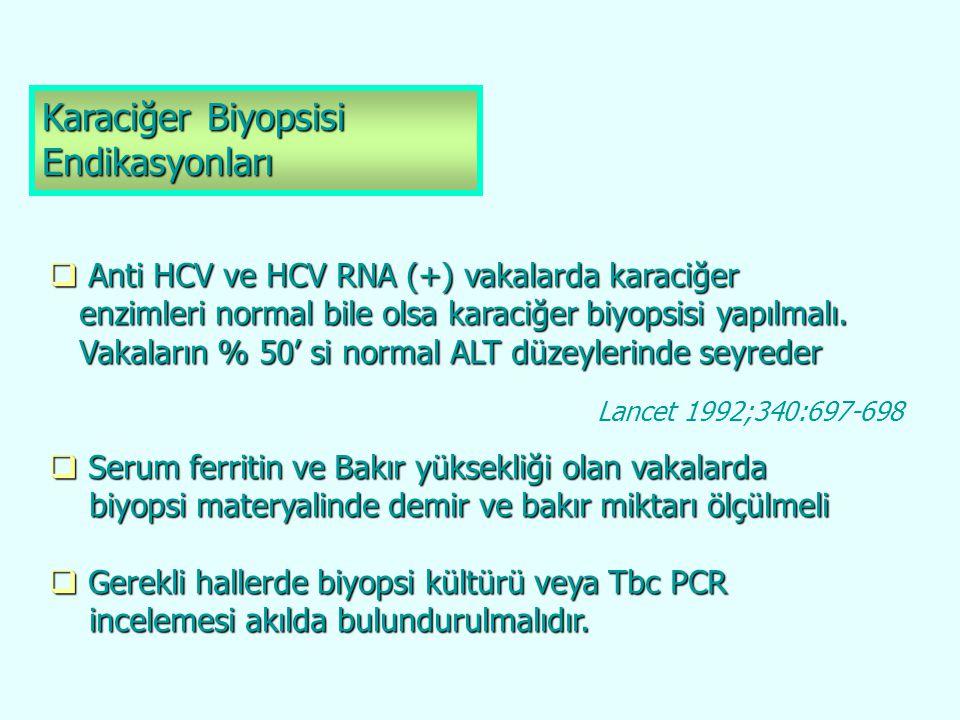 Karaciğer Biyopsisi Endikasyonları