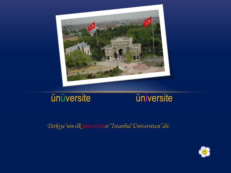 ünüversite üniversite