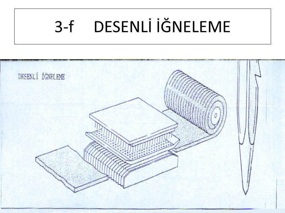 3-f DESENLİ İĞNELEME