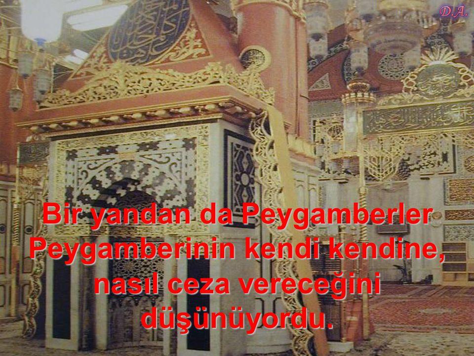 Bir yandan da Peygamberler Peygamberinin kendi kendine, nasıl ceza vereceğini düşünüyordu.