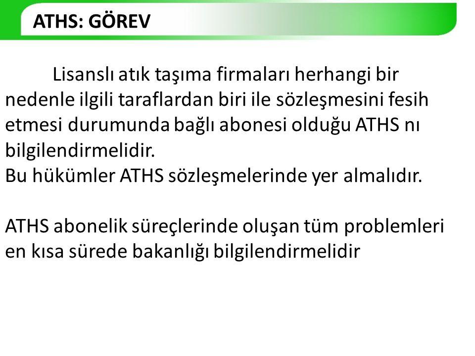ATHS: GÖREV