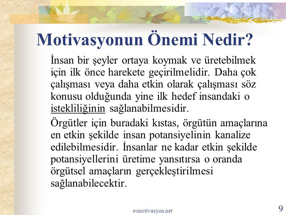 Motivasyonun Önemi Nedir