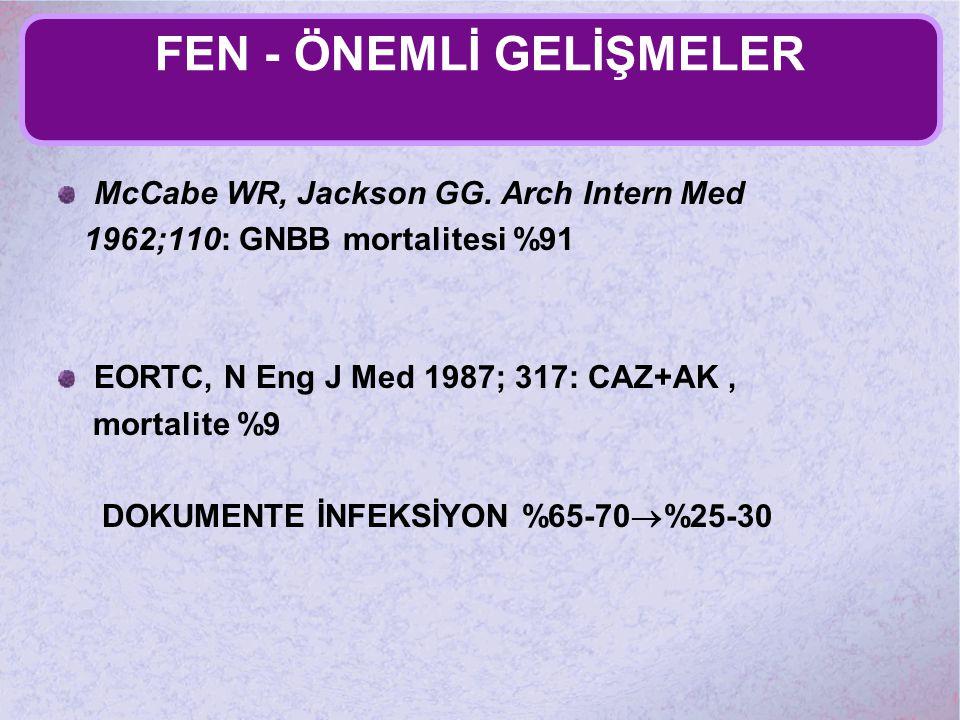 FEN - ÖNEMLİ GELİŞMELER