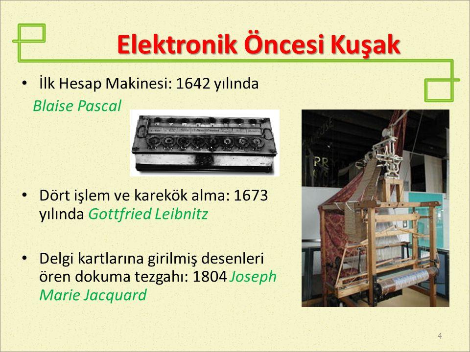 Elektronik Öncesi Kuşak
