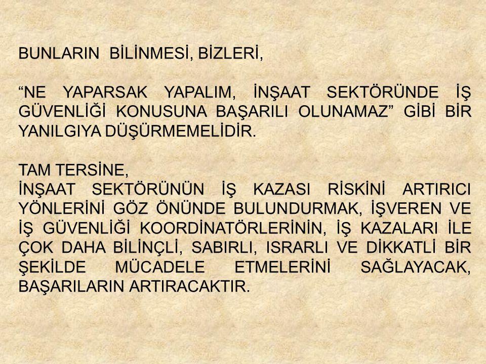 BUNLARIN BİLİNMESİ, BİZLERİ,
