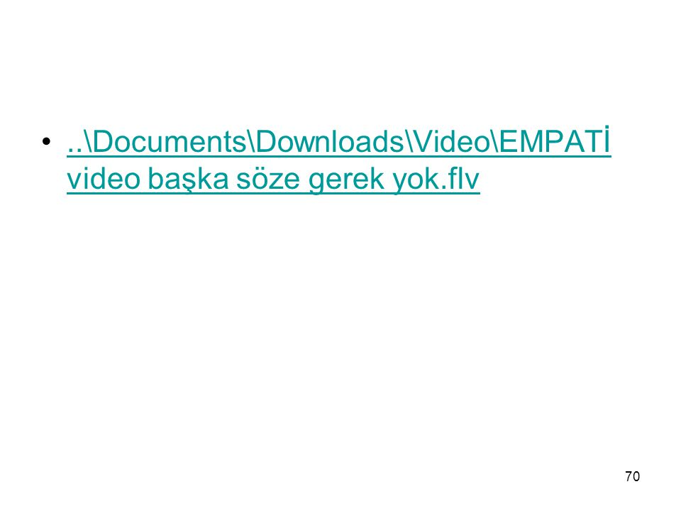 ..\Documents\Downloads\Video\EMPATİ video başka söze gerek yok.flv