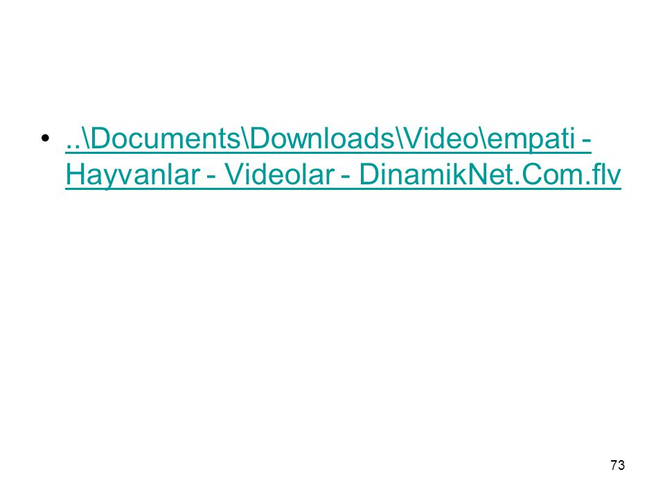 \Documents\Downloads\Video\empati - Hayvanlar - Videolar - DinamikNet