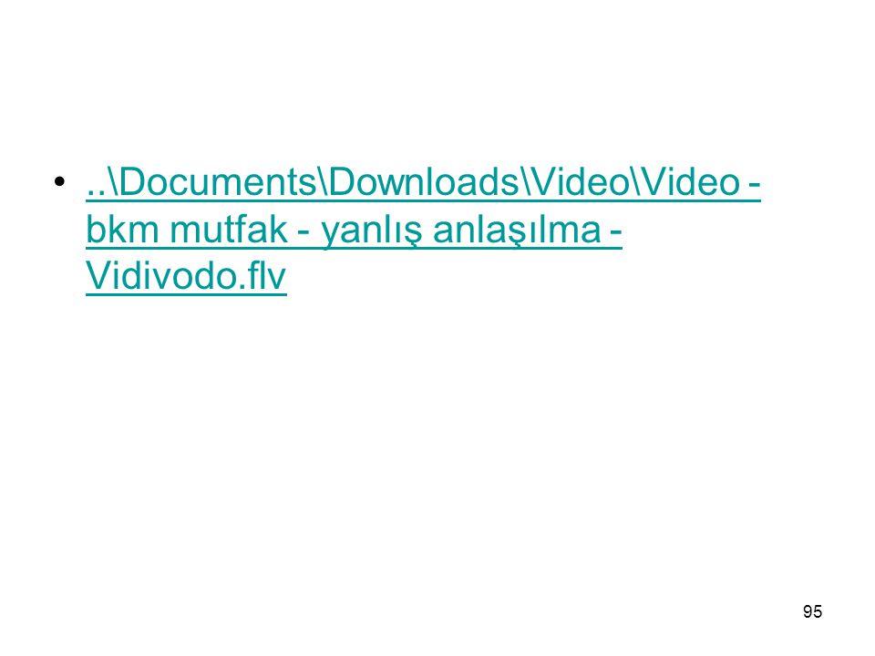 ..\Documents\Downloads\Video\Video - bkm mutfak - yanlış anlaşılma - Vidivodo.flv