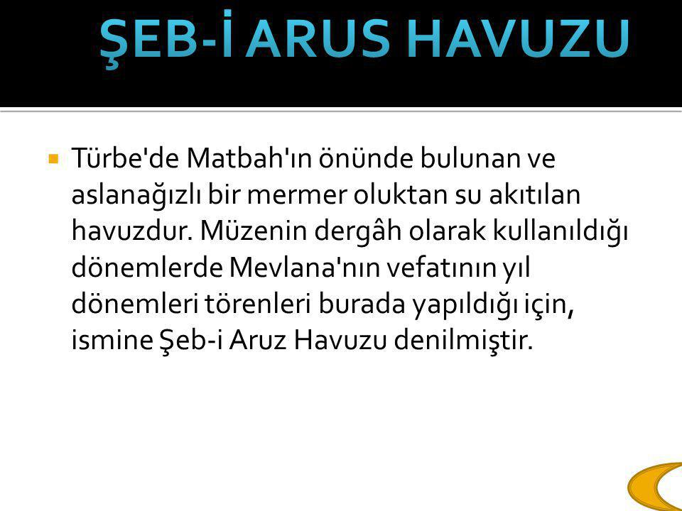 ŞEB-İ ARUS HAVUZU