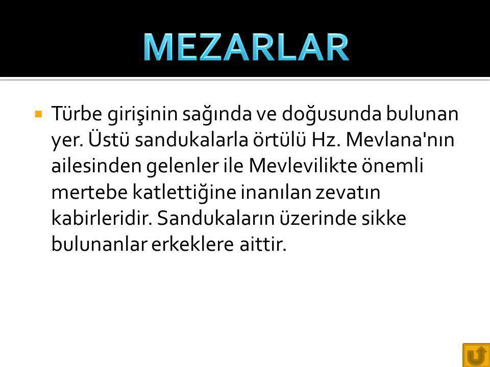 MEZARLAR