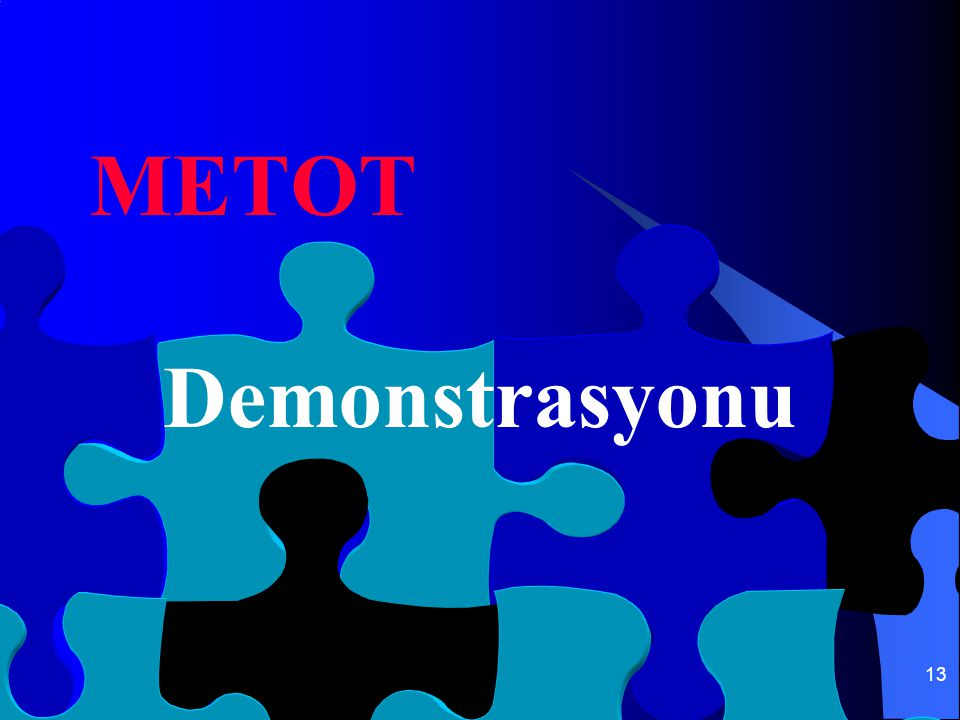 METOT Demonstrasyonu