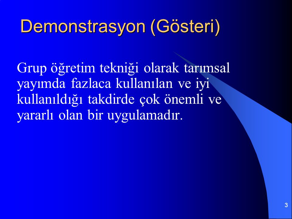 Demonstrasyon (Gösteri)