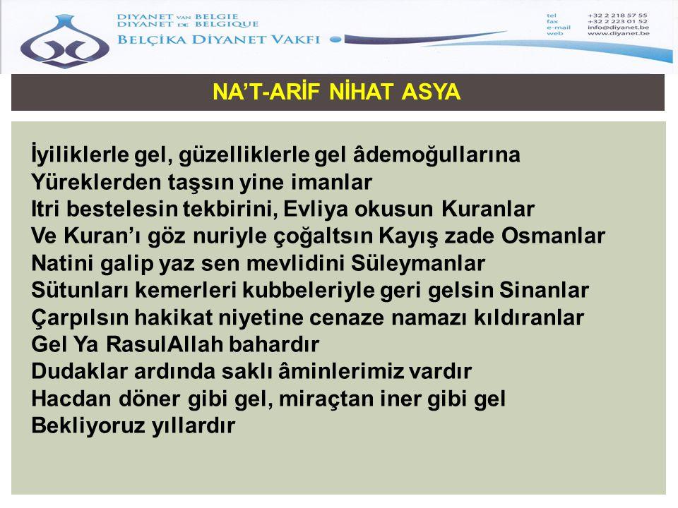 NA'T-ARİF NİHAT ASYA