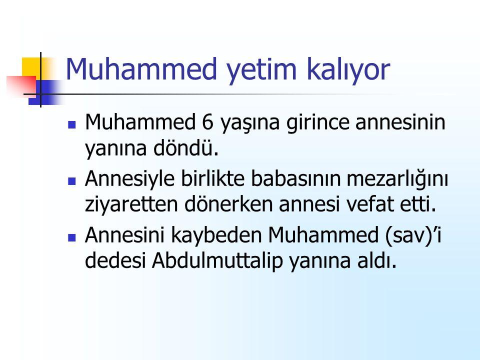 Muhammed yetim kalıyor