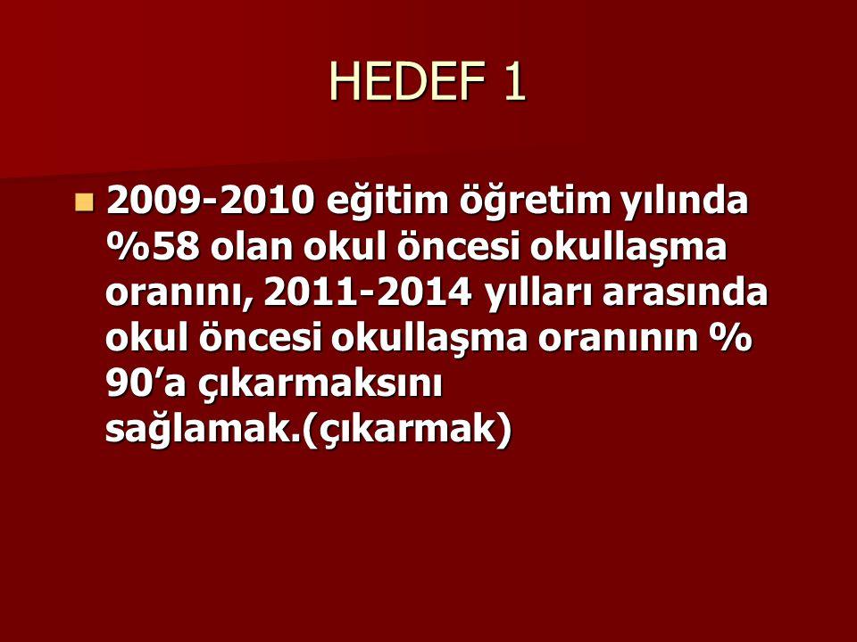 HEDEF 1
