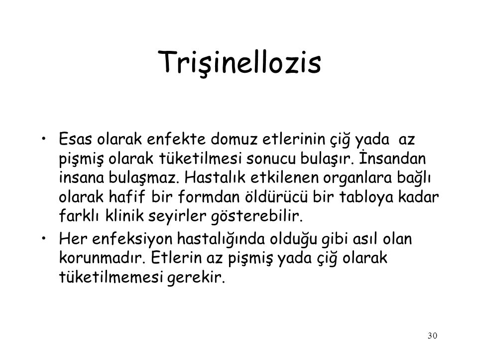 Trişinellozis