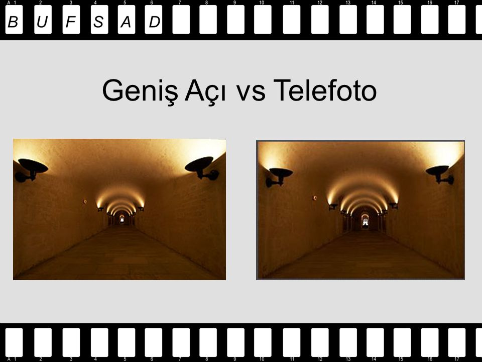 Geniş Açı vs Telefoto
