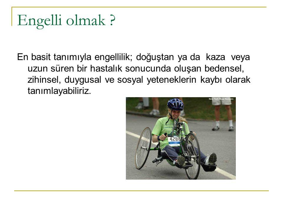 Engelli olmak