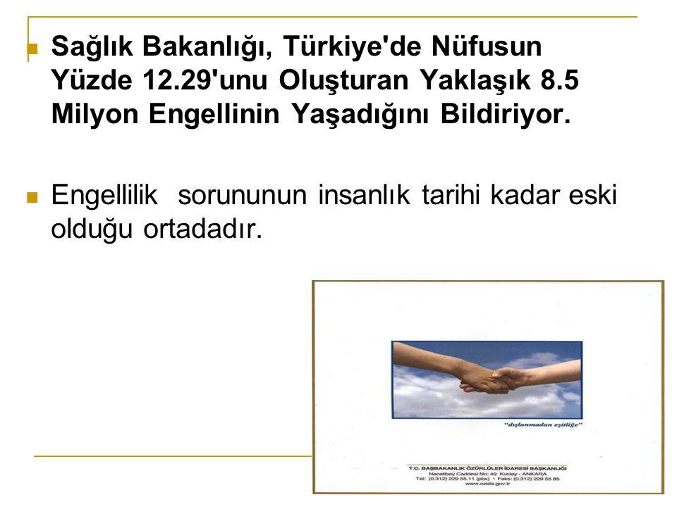 Sağlık Bakanlığı, Türkiye de Nüfusun Yüzde 12
