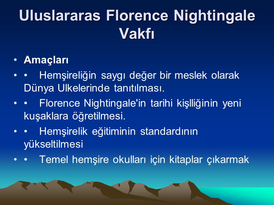 Uluslararas Florence Nightingale Vakfı