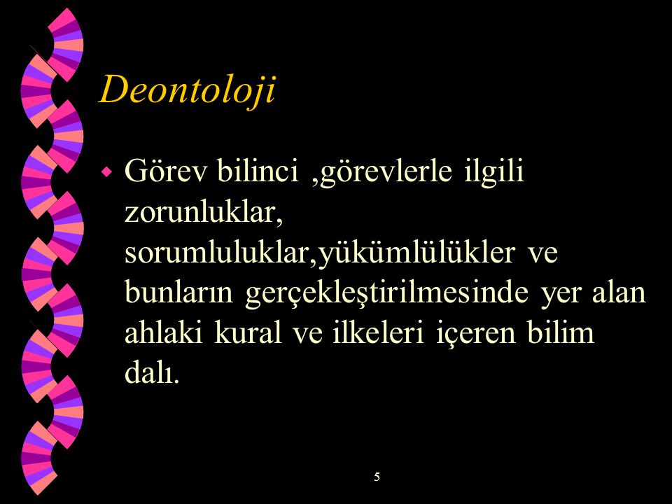 Deontoloji