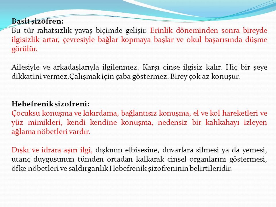 Basit şizofren: