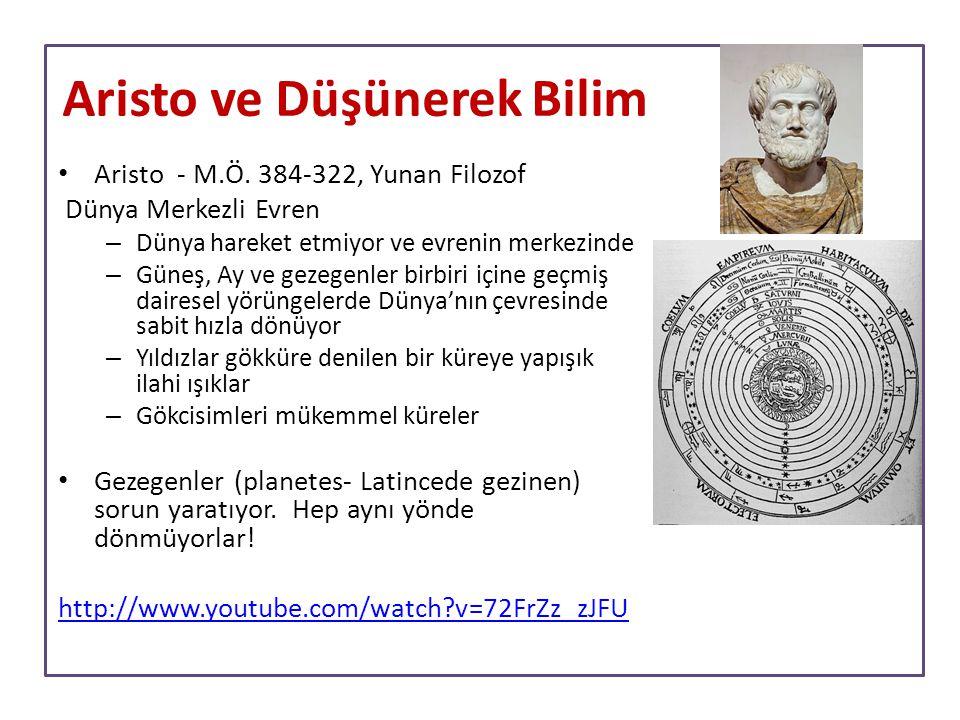 Aristo ve Düşünerek Bilim