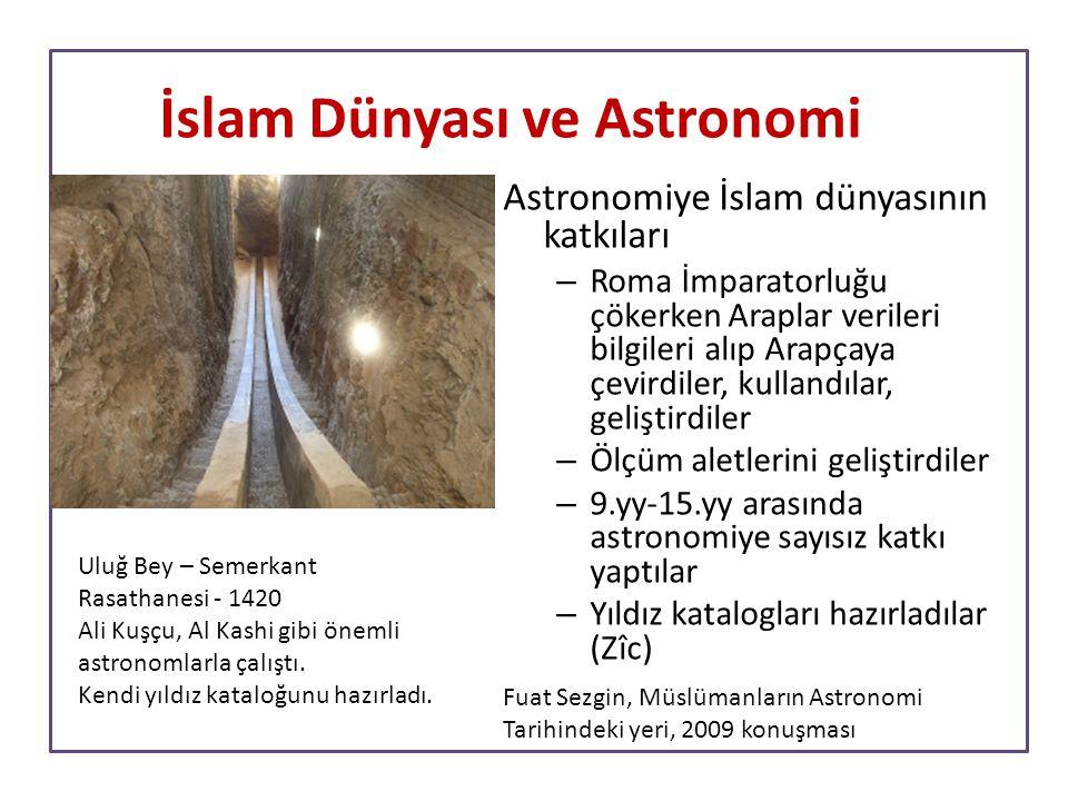 İslam Dünyası ve Astronomi