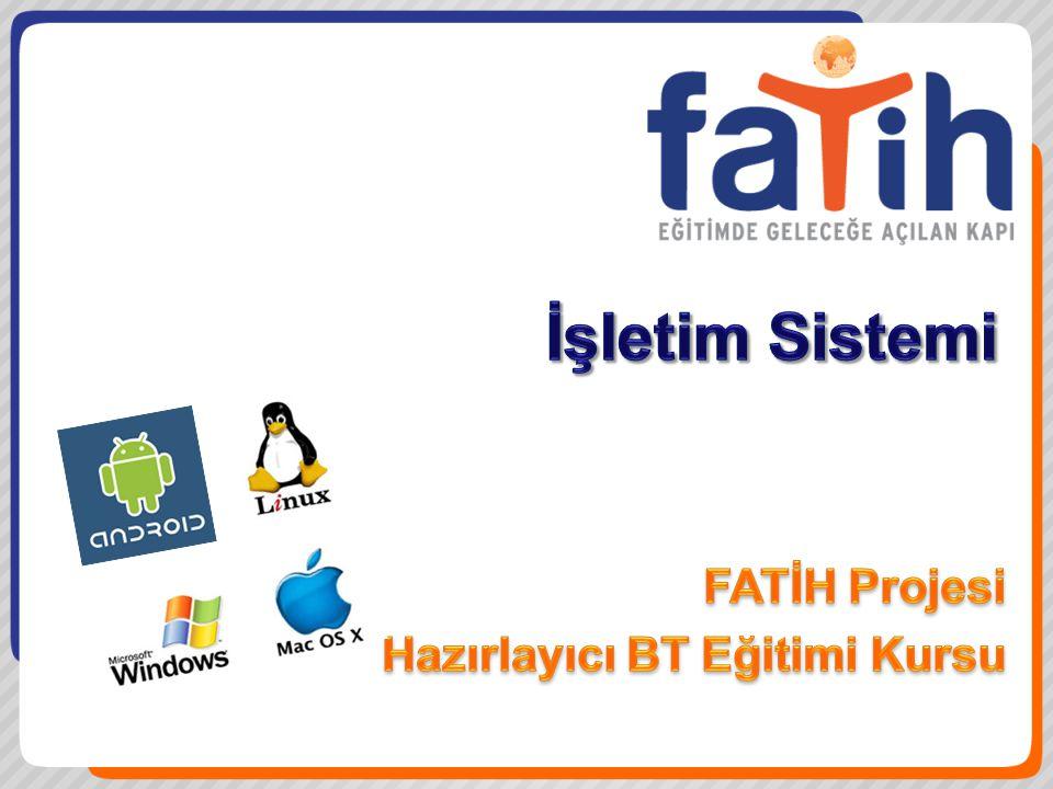 FATİH Projesi Hazırlayıcı BT Eğitimi Kursu