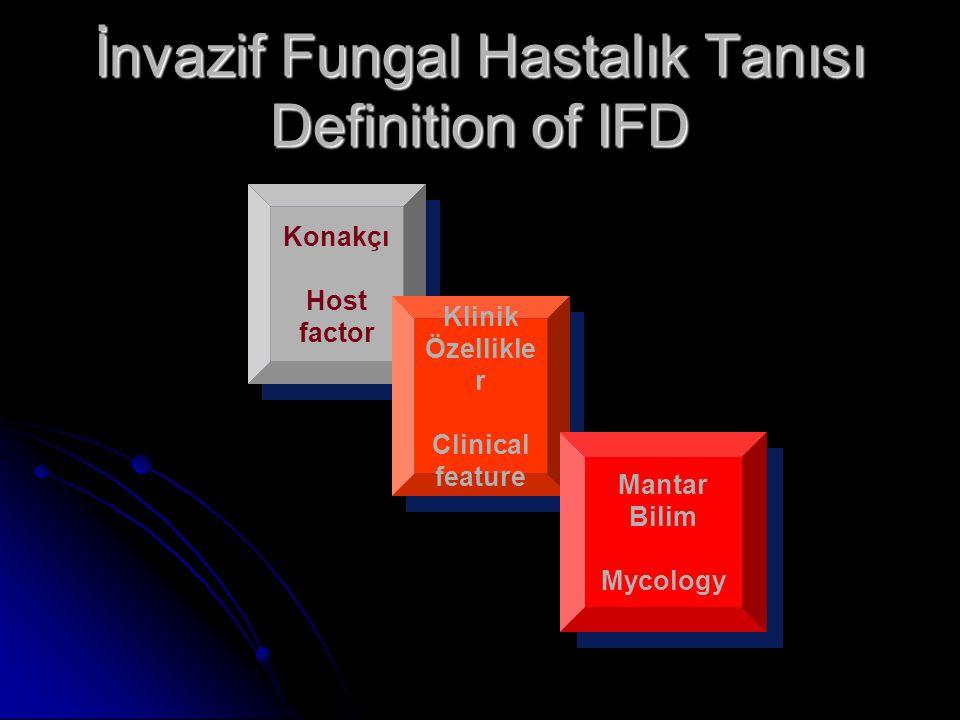 İnvazif Fungal Hastalık Tanısı Definition of IFD